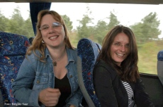 Die Vorfreude steht Stefanie Spieker und Mandy Le Boutillier ins Gesicht geschrieben.