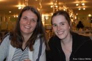 Endlich an Bord. Doch wie lange noch ist Mandy Le Boutillier und Brigitte Saar nach Lachen zumute?