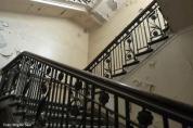 """""""Da oben"""" hatte Lord Pirrie mal sein Büro - leider darf es wegen des Zustands des Gebäudes nicht betreten werden."""