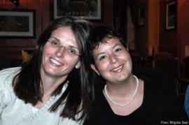Mandy Le Boutillier und Lotti Reber.