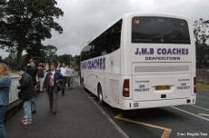 Unser Bus für den Ausflug nach Comber war weniger spektakulär, bot uns aber eine massgeschneiderte Tour.