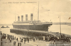 RMS Olympic in Southampton
