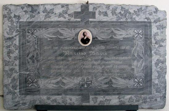 Narciso Bazzi Gedenktafel in Brissago
