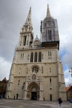Der Dom von Zagreb.