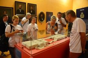 Die Hauptattraktion des Museums: Eine Original-Rettungsweste von der Titanic.
