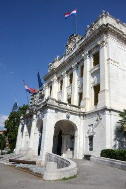 Das Marine- und Geschichtsmuseum des Kroatischen Küstenlandesin Rijeka.
