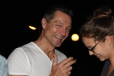Unser Gastgeber: Thomas Schoetzau, der Hotelbesitzer