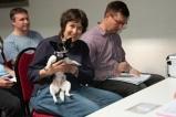 Erstmals hatten wir bei der GV auch einen Teilnehmer auf vier Pfoten